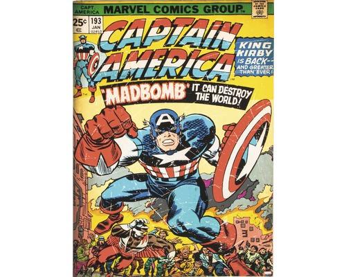 Leinwandbild Marvel, Captain America 50x70 cm