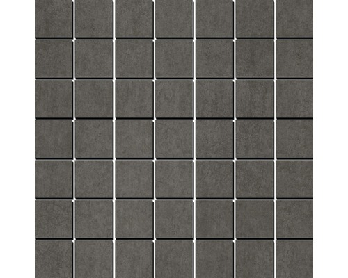 Feinsteinzeugmosaik Residenz dunkelgrau 35x35 cm