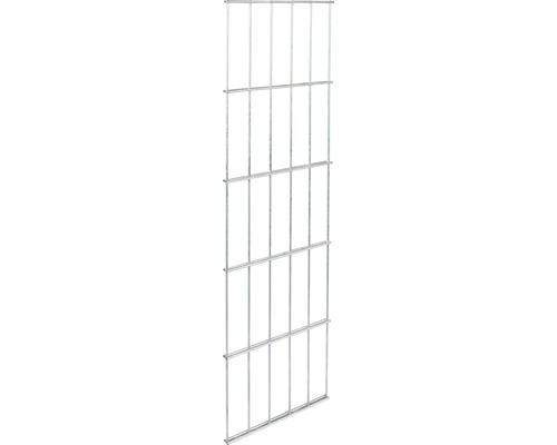 Doppelstab-Gittermatte GAH Alberts 6/5/6, 25x80 cm feuerverzinkt