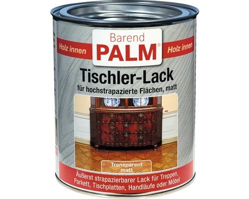Tischlerlack Parkettlack Barend Palm matt 750 ml