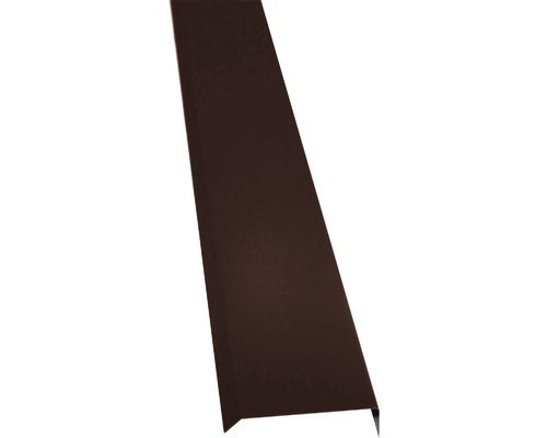 PRECIT Kappleiste chocolate brown RAL 8017 2000 x 10 x 50 mm