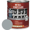 Metallschutzlack 3in1 matt silbergrau 250 ml