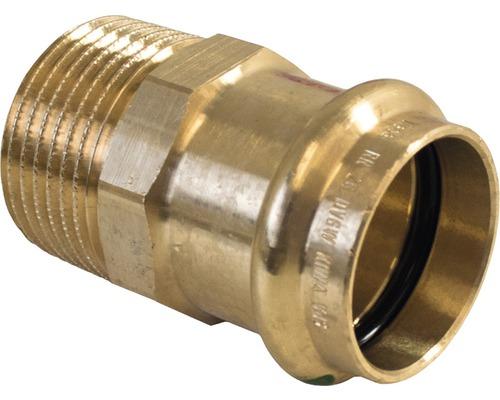 """Viega Sanpress Pressfitting mit SC-Contur Übergangsnippel 15mmx3/4"""" AG 287764"""