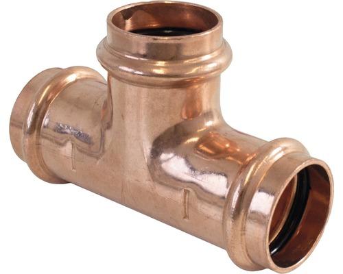 Viega Profipress Pressfitting mit SC-Contur T-Stück 22mm 291969