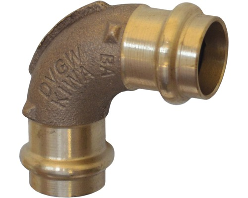 Viega Sanpress Pressfitting mit SC-Contur Bogen 90° 22mm 104818