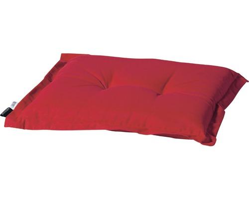 Auflage für Gartenhocker Madison Panama Baumwolle-Polyester rot
