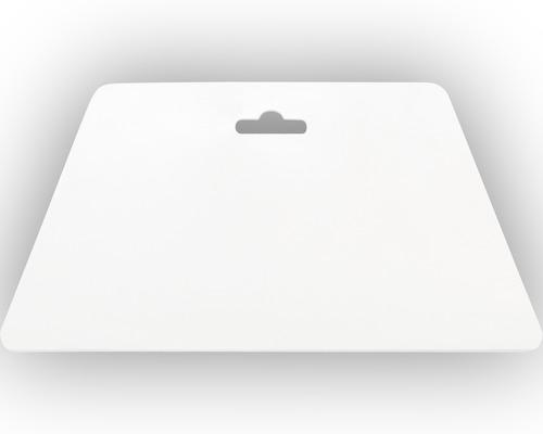 Tapeten-Andrückspachtel, weiß 23cm