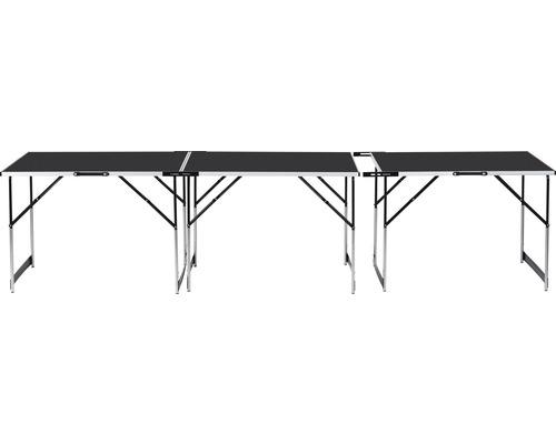 Multifunktionstisch 3tlg. 300 x 60 cm höhenverstellbar