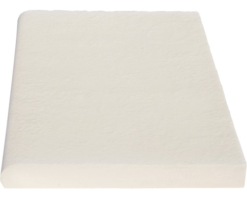 Poolumrandung Beckenrandstein Aquitaine flach Element weiß 49,5 x 31 x 3,2 cm