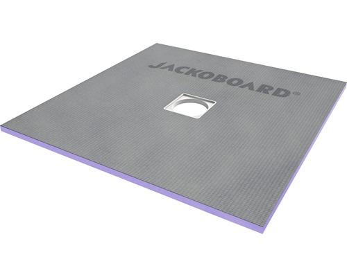 JACKOBOARD Aqua Flat befließbares Duschelement für Holzbalkendecken 900x900x20mm