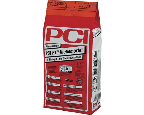 PCI FT Klebemörtel Fliesenkleber für Steingut- und Steinzeugbeläge 5 kg