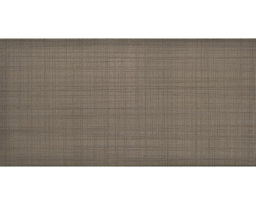 Steingut Wandfliese Moire Tabacco 20 x 40 cm