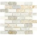 Natursteinmosaik XQM 13IL 30,5x30,5 cm beige/grau