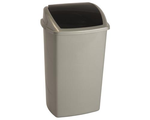 Abfallbehälter Swing 50 Liter grau