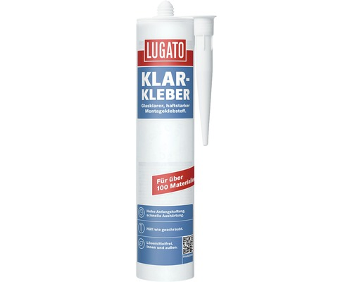 Lugato Klar-Kleber 1K Montageklebestoff transparent 300 gr
