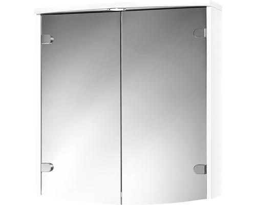 Spiegelschrank Jokey Joba LED weiß 63x68 cm IP20