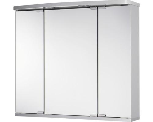 Spiegelschrank Jokey Doro LED alufarben 68x60 cm IP20