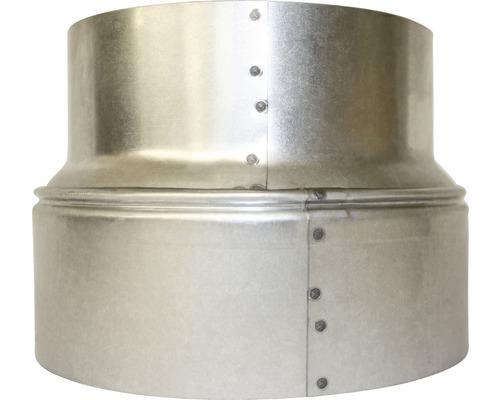 Ofenrohr-Erweiterung Bertrams Ø 130-150 mm feueraluminiert silber