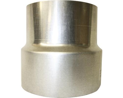 Ofenrohr Reduzierung Bertrams Ø 120-100 mm feueraluminiert silber