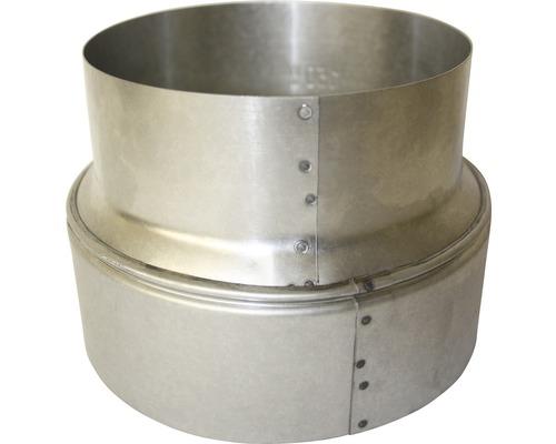 Ofenrohr Reduzierung Ø120 auf 80 mm feueraluminiert