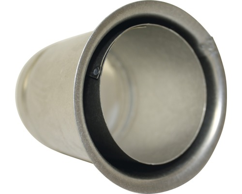 Doppelwandfutter Ø80 mm 12cm feueraluminiert