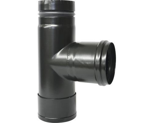 Pellet-Kapselknie Ø80 mm schwarz matt