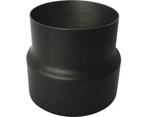 Ofenrohr Erweiterung Ø150 auf 180mm 2mm schwarz