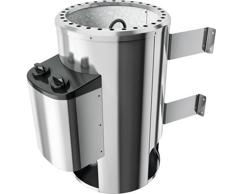 Plug & Play Saunaofen Karibu 3,6 kW mit intgr. Steuerung