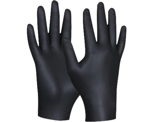 Einweghandschuhe schwarz Nitril Gr. L, 80er Pack
