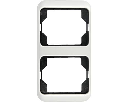BUSCH JAEGER SET ALPHA NEA basaltschwarz 3 Schalter 1-fach Rahmen in Chrome