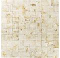Natursteinmosaik MOS X3D 63 beige 30x30 cm