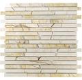 Natursteinmosaik MOS Brick 2807 beige 30,5x32,2 cm