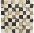 Natursteinmosaik MOS M/VH021 beige 30,5x30,5 cm