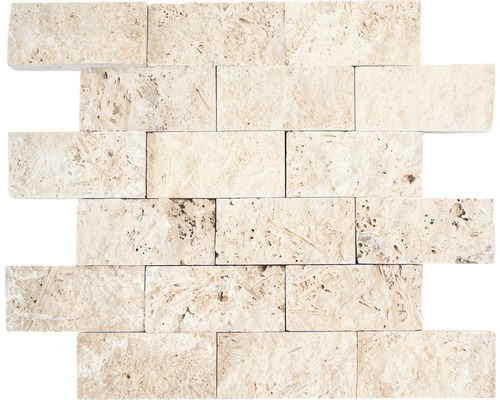 Mosaik Brick Splitface Chiaro beige 29 x 30,5 cm