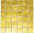 Glasmosaik XCM 8GO25 gold 30x30 cm