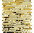 Glasmosaik XCM GV918 gold 29,8x33,8 cm