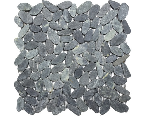 Flusskiesel XKS IN24 schwarz 30,5x30,5 cm