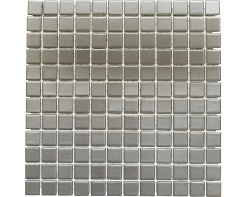 Keramikmosaik CG 134 grau 30x30 cm