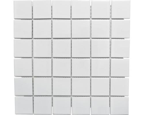 Keramikmosaik CD 102 weiß 30x30 cm