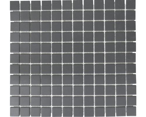 Keramikmosaik CU 020 schwarz 32,7x30,2 cm