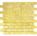 Glasmosaik CM 4GO30 gold 30x30 cm