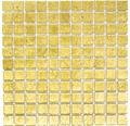 Glasmosaik CM 4GO10 gold 30x30 cm