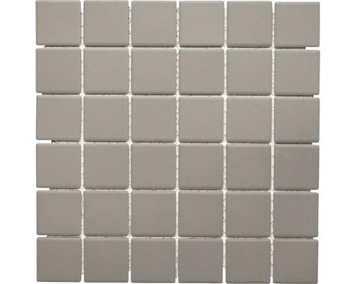 Keramikmosaik CU 233 grau 29,1x29,1 cm