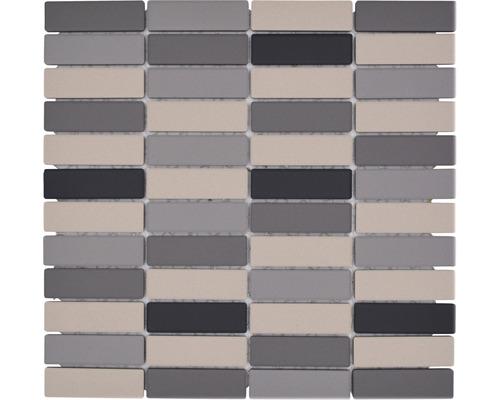 Keramikmosaik CU ST 011 grau/beige 28,65x29,5 cm