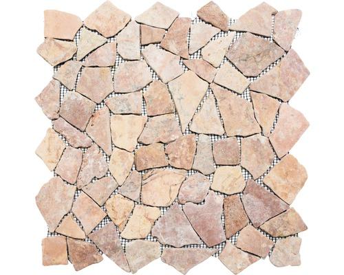 Bruchmosaik Ciot 30/140 rot 30,5x30,5 cm