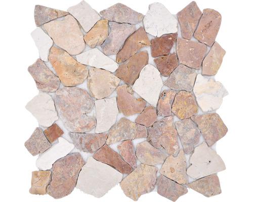Bruchmosaik Ciot 30/130 braun/creme 30,5x30,5 cm