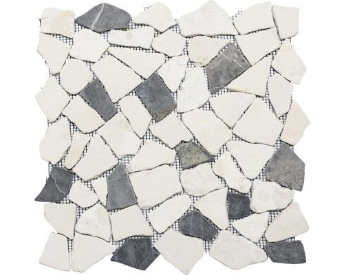 Bruchmosaik Ciot 30/110 schwarz/beige 30,5x30,5 cm