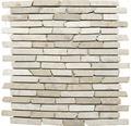 Natursteinmosaik MOS Brick 105 beige 30,5x30,5 cm