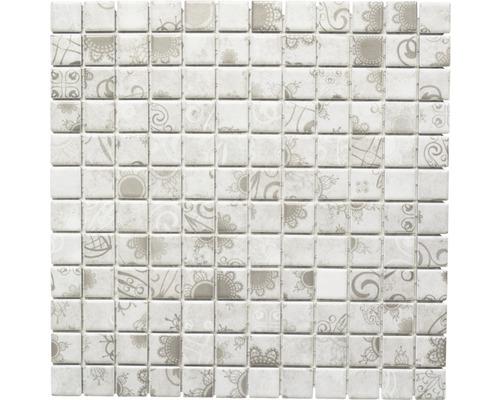 Keramikmosaik LB 106 grey 30x30 cm