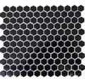 Keramikmosaik HX 060 schwarz 26x30 cm